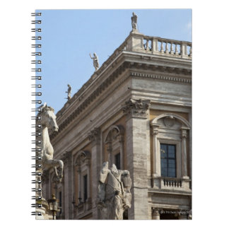 The Campidoglio (Capitoline Hill), between the 2 Notebook