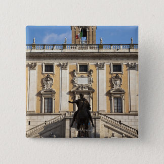 The Campidoglio (Capitoline Hill), between the Button