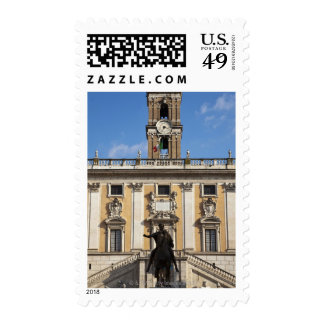 The Campidoglio (Capitoline Hill), between the Postage Stamp