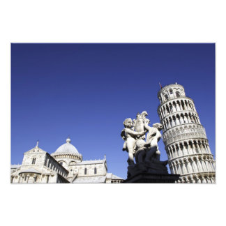 The Campo dei Miracoli Field of Miracles) is Photo Print