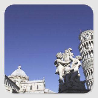 The Campo dei Miracoli Field of Miracles) is Square Sticker