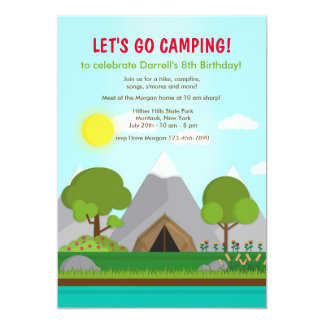 The Campsite Invitation