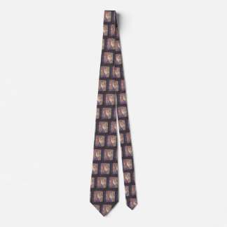 The Can Can Dance, Le Chahut by Georges Seurat Neck Tie