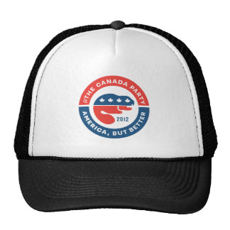 The Canada Party 2012 - ball cap Trucker Hat