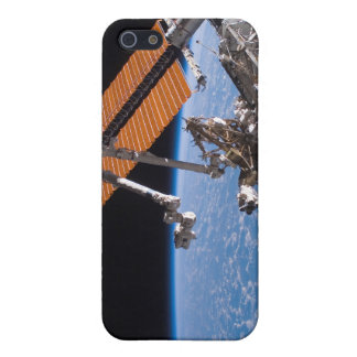 The Canadarm2 and solar array panel wings iPhone SE/5/5s Case