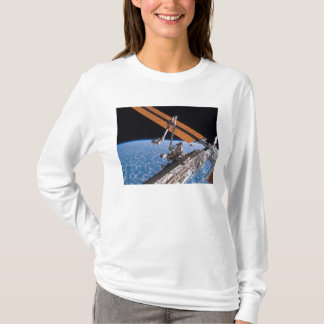 The Canadarm2 and solar array panel wings T-Shirt