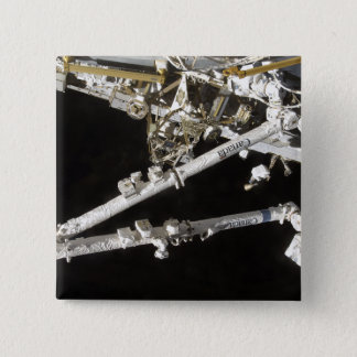 The Canadian-built space station Pinback Button