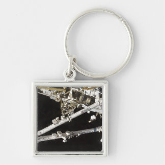 The Canadian-built space station Silver-Colored Square Keychain