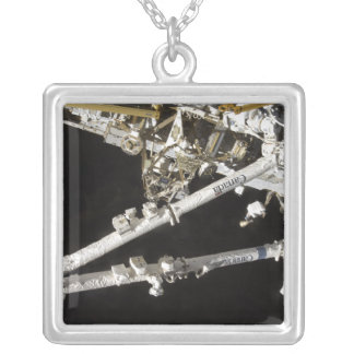 The Canadian-built space station Silver Plated Necklace