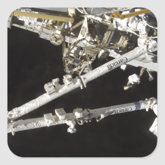The Canadian-built space station Square Sticker
