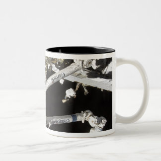 The Canadian-built space station Two-Tone Coffee Mug