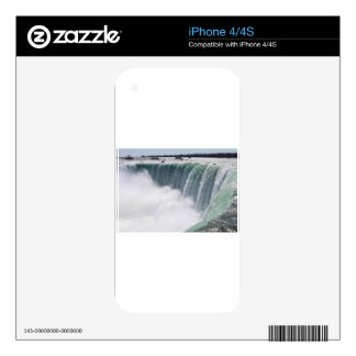 The Canadian Falls or Horseshoe Falls at Niagara F Decals For iPhone 4S