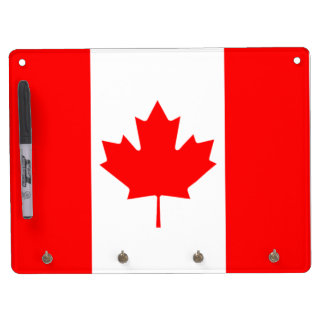 The Canadian Flag, Canada Dry-Erase Whiteboards