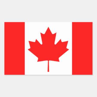 The Canadian Flag, Canada Rectangular Sticker