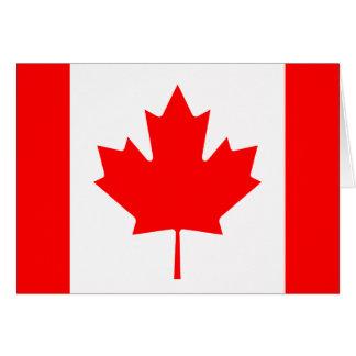The Canadian Flag - Canada Souvenir Card
