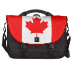 The Canadian Flag - Canada Souvenir Computer Bag