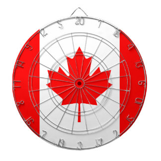 The Canadian Flag - Canada Souvenir Dartboard