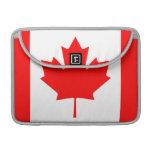 The Canadian Flag - Canada Souvenir MacBook Pro Sleeves