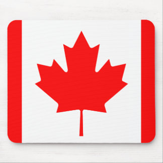 The Canadian Flag - Canada Souvenir Mouse Pad
