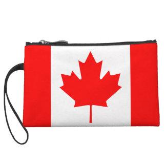 The Canadian Flag - Canada Souvenir Wristlet Purses