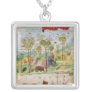 The Canadian Forest Silver Plated Necklace