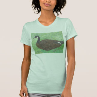 The Canadian Goose By Julia Hanna T-shirt