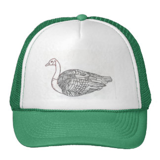 The Canadian Goose by Julia Hanna Trucker Hat