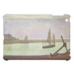 The canal at Gravelines by Georges Seurat Case For The iPad Mini