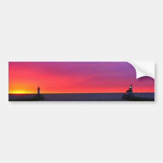 The Canal at Sunrise Bumper Sticker