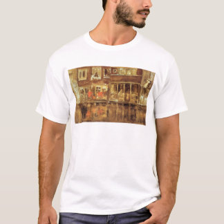 The Canal by James McNeill Whistler T-Shirt