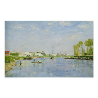 The Canal Saint-Denis Poster