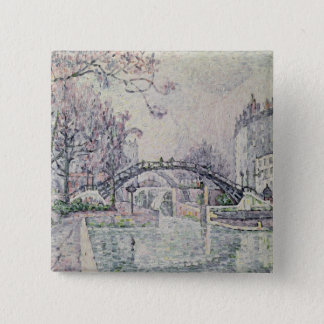 The Canal Saint-Martin, 1933 Pinback Button