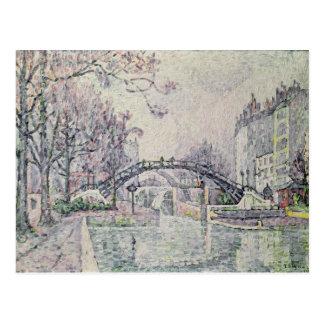 The Canal Saint-Martin, 1933 Postcard