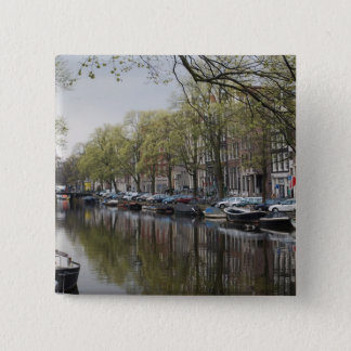 The Canals of Amsterdam Button