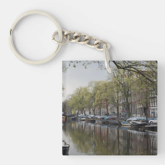 The Canals of Amsterdam Keychain