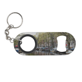 The Canals of Amsterdam Keychain Bottle Opener