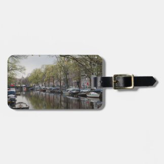 The Canals of Amsterdam Luggage Tag