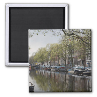 The Canals of Amsterdam Fridge Magnet