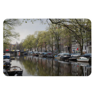 The Canals of Amsterdam Vinyl Magnet