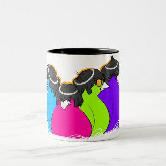 The Canaries Two-Tone Coffee Mug