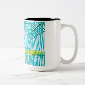 THE CANARIES Two-Tone COFFEE MUG