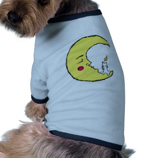 The Candle in the Moon Pet T Shirt