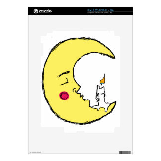 The Candle in the Moon iPad 2 Decal