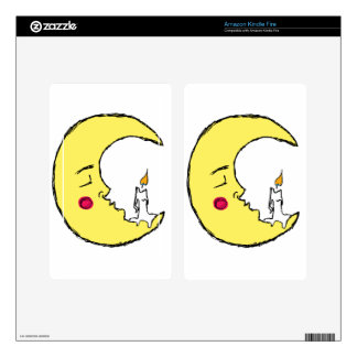 The Candle in the Moon Kindle Fire Decal