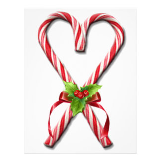 The Candy Canes Heart Collection 2 Letterhead