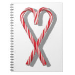 The Candy Canes Heart Collection Notebooks