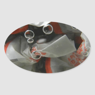 The Candy Dish Oval Sticker