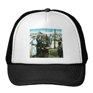 The Candy Man of Old Japan Vintage Japanese Trucker Hat