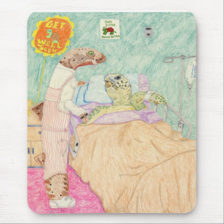 The Candy Striper And Her Patient Mouse Pad