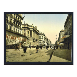 The Cannabiere (i.e., Cannebi�re) and the Bourse, Post Card